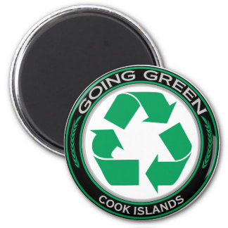 Recycle Cook Islands Magnet
