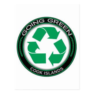 Recycle Cook Islands Postcard