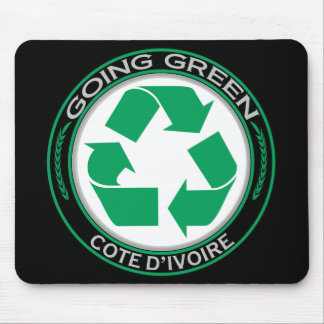 Recycle Cote d'Ivoire Mouse Pad