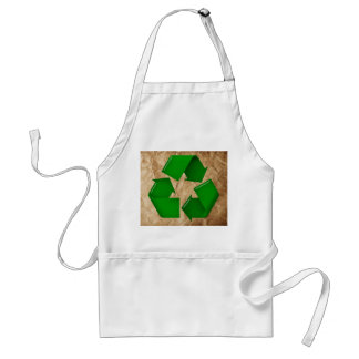 Recycle - Crumpled Paper Adult Apron