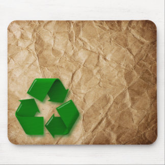 Recycle - Crumpled Paper Mouse Pad