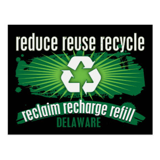 Recycle Delaware Postcards