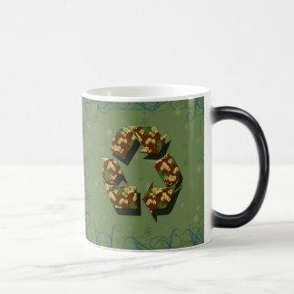 recycle design magic mug