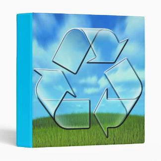 recycle design notebook binder
