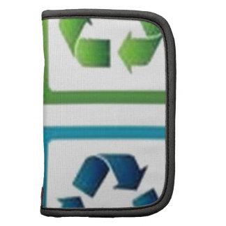 Recycle design folio planner