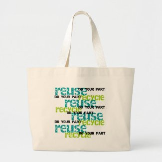 Recycle Do Your Part bag