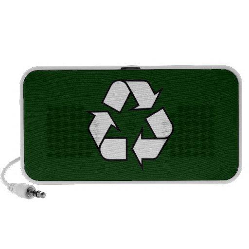Recycle Doodle Notebook Speaker