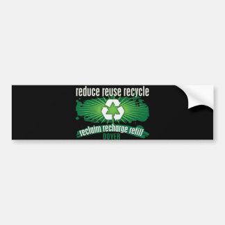 Recycle Dover Bumper Sticker
