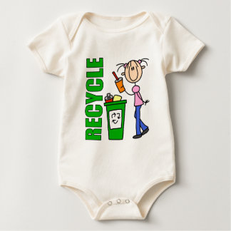 Recycle Earth Day Organic Baby Baby Bodysuit