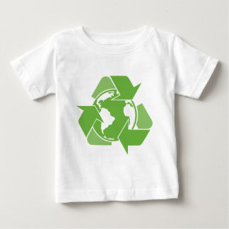 Recycle Earth Green Baby T-Shirt