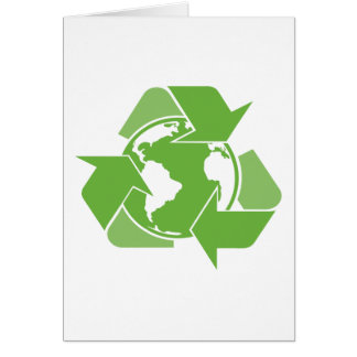 Recycle Earth Green Card