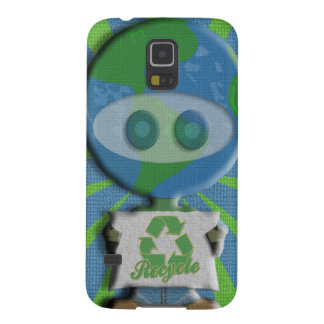 Recycle Earth Guy Case For Galaxy S5
