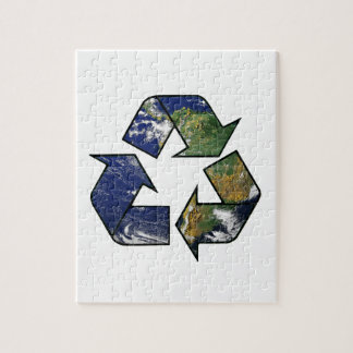 Recycle Earth Jigsaw Puzzle