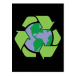 Recycle Earth Postcards