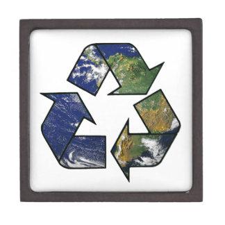 Recycle Earth Premium Keepsake Box