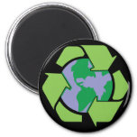 Recycle Earth Refrigerator Magnet