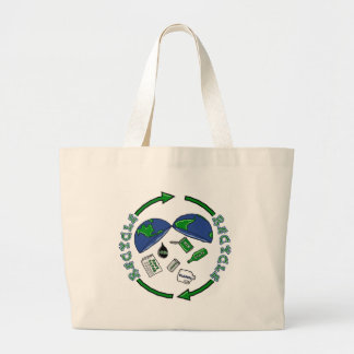 Recycle Earth Tote Bag