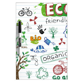 Recycle Eco Friendly Dry-Erase Board