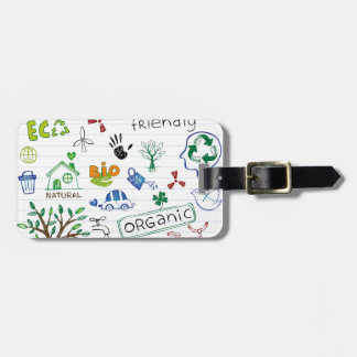 Recycle Eco Friendly Bag Tags