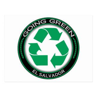 Recycle El Salvador Postcard