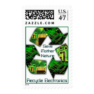 Recycle Electronics Postage - Customized