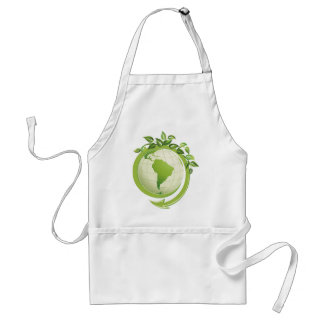 Recycle environmental concerned adult apron