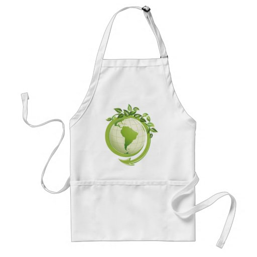 Recycle environmental concerned aprons