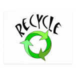 Recycle exclusive products! postcards
