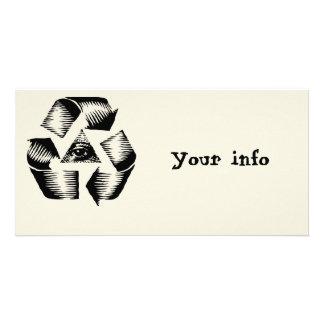 Recycle Eye Card