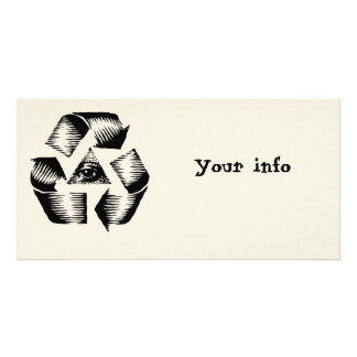 Recycle Eye Card