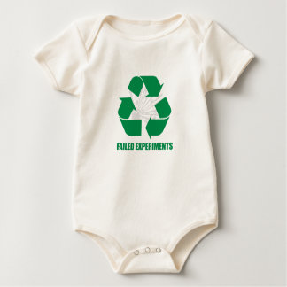 Recycle Failed Experiments Organic Baby Bodysuit