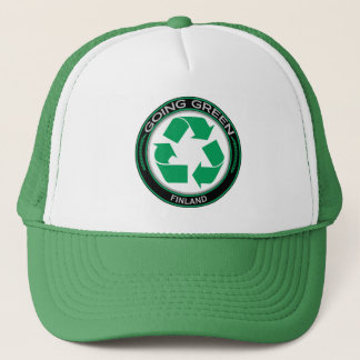 Recycle Finland Trucker Hat