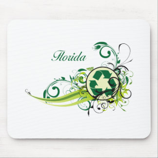 Recycle Florida Mouse Pad