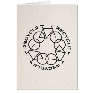 Recycle Folding Card