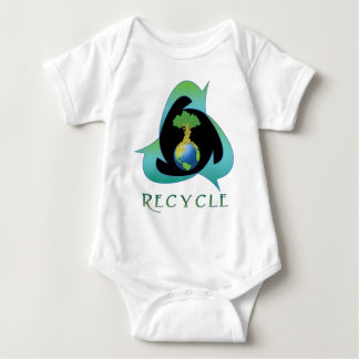 Recycle for Mother Earth Baby Bodysuit