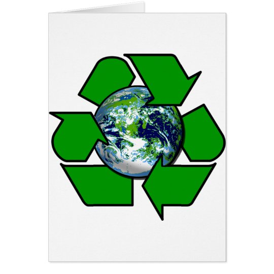 Recycle for Planet Earth Card