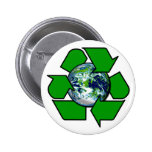 Recycle for Planet Earth Pins
