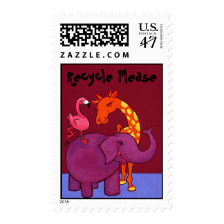 Recycle for the Animals Postag Postage