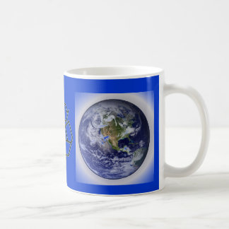 Recycle for the Earth Cup Classic White Coffee Mug