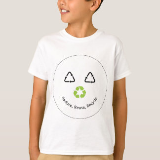 Recycle Funny Face T-Shirt