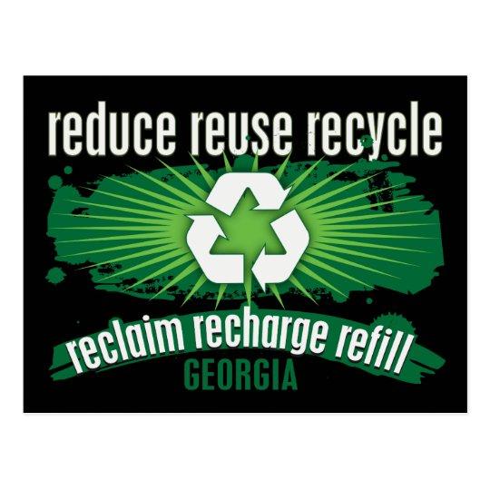 Recycle Georgia Postcard