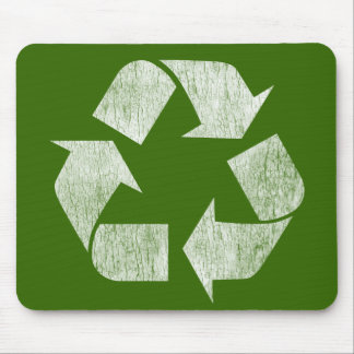 Recycle - Go Green Mouse Pad