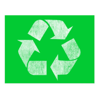Recycle - Go Green Postcard