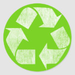 Recycle - Go Green Sticker