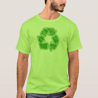 Recycle Graphic Vintage T-Shirt