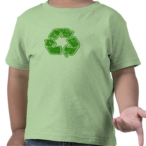 Recycle Graphic Vintage T Shirts