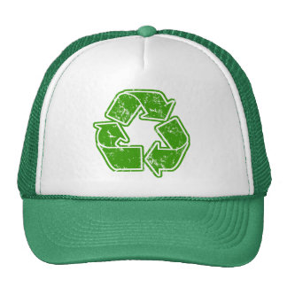 Recycle Graphic Vintage Trucker Hat