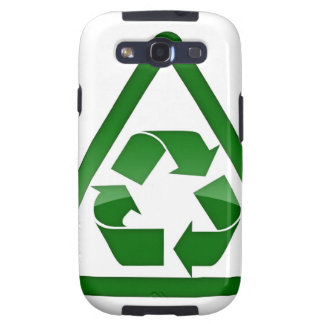 Recycle Green Eco Friendly Save Earth Samsung Galaxy SIII Cover