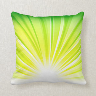 Recycle Green Eco Friendly Save Earth Rise Gradien Throw Pillow