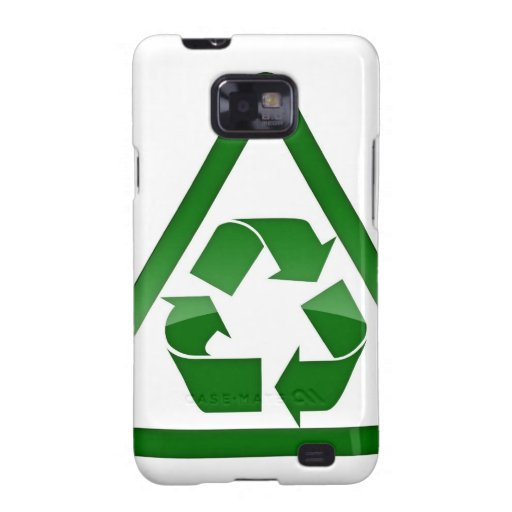 Recycle Green Eco Friendly Save Earth Samsung Galaxy SII Cover